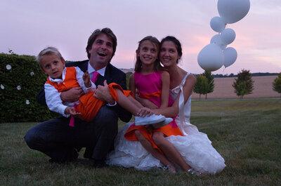La boda de Eloi-Pierre y Alphée