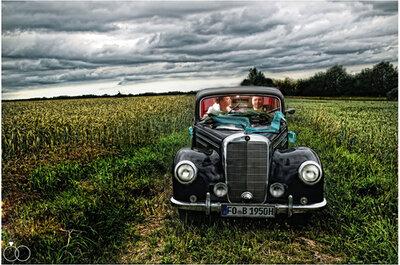 Ausgefallene Hochzeitsautos - im Oldtimer zum Jawort fahren