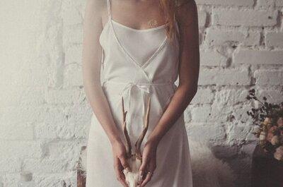 Eteryczna bielizna i suknia w stylu boho? Imponująca!