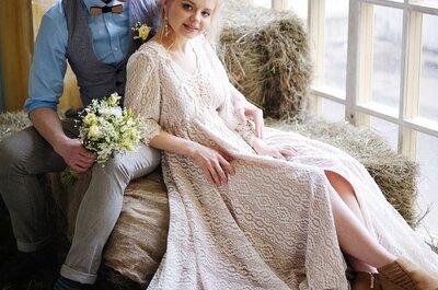 Свадьба в стиле кантри: естественность и уют