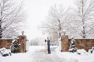 Cómo tener la decoración perfecta para tu boda en Navidad