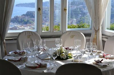 Un matrimonio da sogno alla Villa D'Angelo Santa Caterina