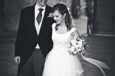 Una novia princesa: la boda de Mar y Javier