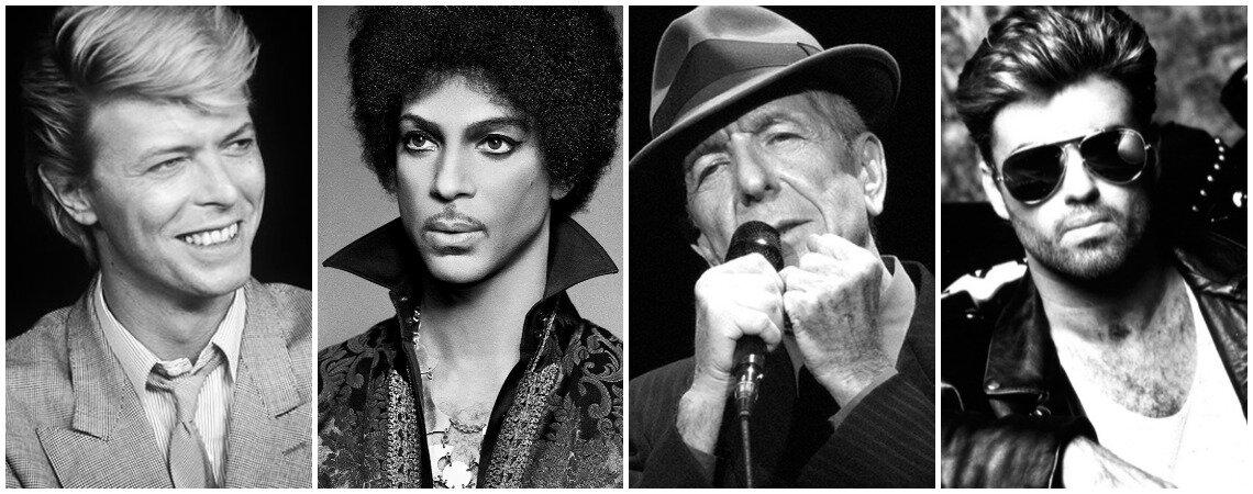 La mejor playlist para rendirle homenaje a 4 grandes que nos dejaron en el 2016.