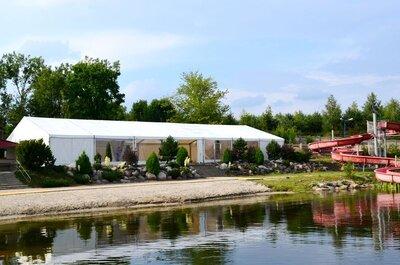 Wszystko, co powinniście wiedzieć zanim zdecydujecie się na wesele pod namiotem