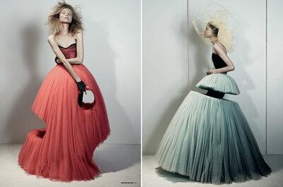 Viktor & Rolf: los vestidos de novia que no se te ocurriría ponerte
