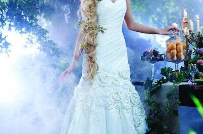 Vestidos de novia 2014 inspirados en las princesas de Disney