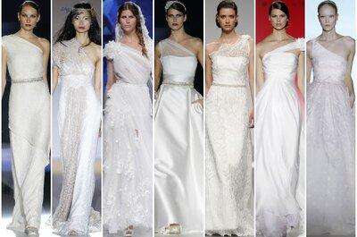 Vestidos de novia asimétricos 2013, ¡aquí tienes 11 para elegir!