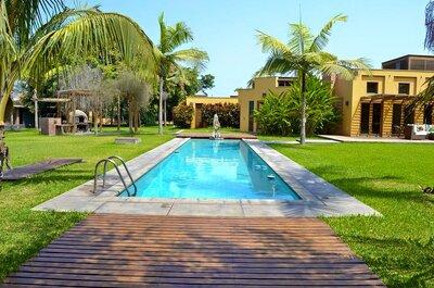 ¡Villa Mónica: mágica hacienda! Ceremonia, recepción y alojamiento en un solo lugar