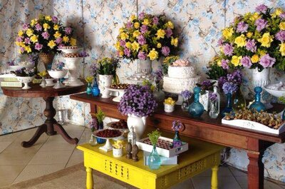 10 ideias infalíveis para a decoração de um chá de panela original e criativo
