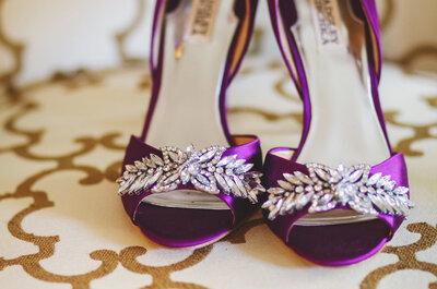 Zapatos de novia de Badgley Mischka: el calzado ideal para tu gran día