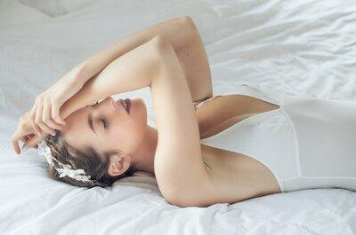 Sexy et sûre de vous : de la lingerie haut de gamme et sur mesure pour votre mariage