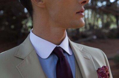 Cómo escoger el traje de novio perfecto para tu boda de día: 4 claves imprescindibles