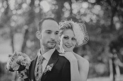 Amor a bordo de una vespa: la boda de Cristina y Jordi