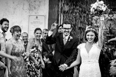 Casamento Aline & Samuel: rústico e boho num cenário espetacular de Minas!