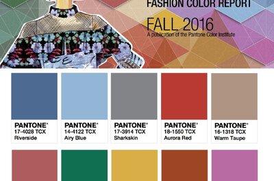 As 10 cores pantone para o outono 2016. Qual é a sua?