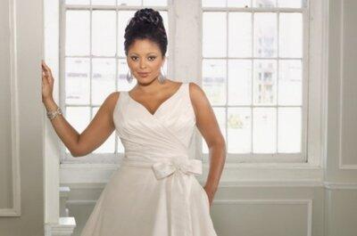 Inspiratiebron voor grote maten bruidsmode: Zangeres Adele