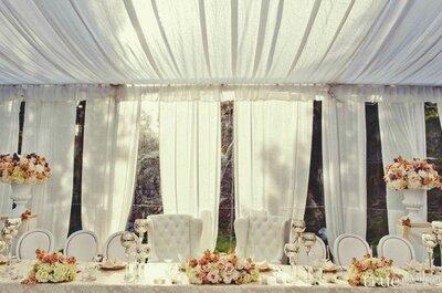 Monta una gran carpa el día de tu boda!!