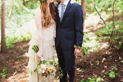 ¿Te animás al boho para tu boda?