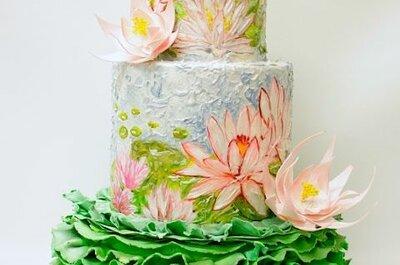 Kreative Hochzeitstorten – inspiriert von Kunstwerken