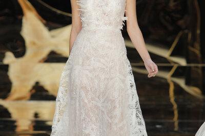 40 A-lijn bruidsjurken voor 2017: een tijdloos en elegant model!