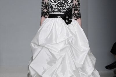Alfred Angelo Spring Collection 2013, che bella la sposa in black&white!