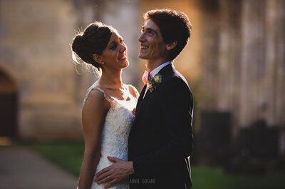 Pauline et Romain : une célébration simple et élégante à l'Abbaye de Longpont