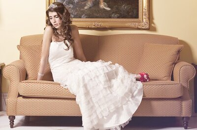 Uma noiva portuguesa: look preto-e-branco