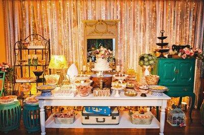 Decoração de casamento com dourado: BOHO ou CLÁSSICA, qual você prefere?