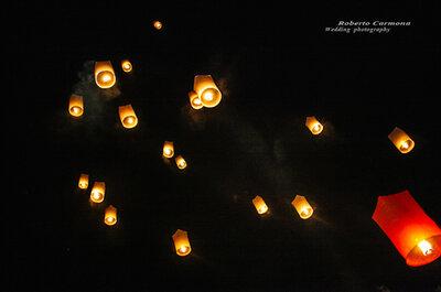 Farolillos voladores: Haz volar tus deseos en tu boda