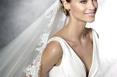 Vestidos de novia para mujeres con mucho busto 2017: ¡diseños para estilizar tu figura!