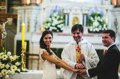 ¿Cómo casarte si eres católica y tu novio de otra religión?