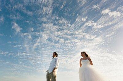 6 ideas creativas para tu sesión de fotos de boda