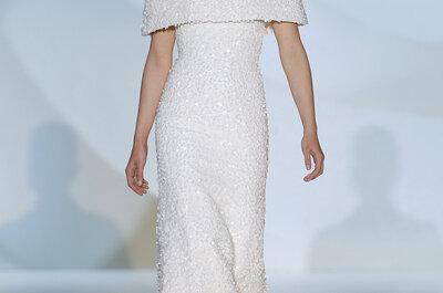 Elegancia original en los Vestidos de novia de Jesús Peiró - BBW 2015