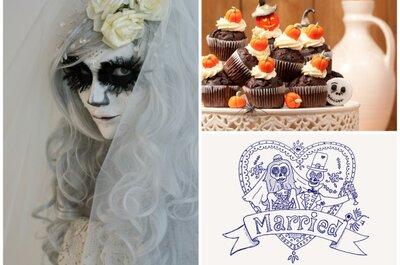 Halloween als Motto für die Hochzeit: Furchtbar originell!