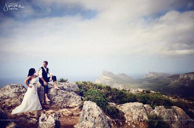 After Wedding Shooting von Janine und Andre auf Mallorca