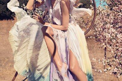¿Aún no conoces los vestidos de novia tie dye? Únete a la tendencia que derrocha color