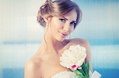Свадебный макияж 2015: выбери для своего цвета глаз!