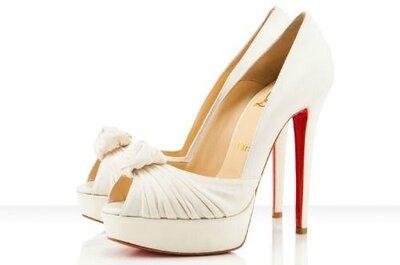 Brautschuhetrends 2013 – was trägt die Braut an den Füßen?