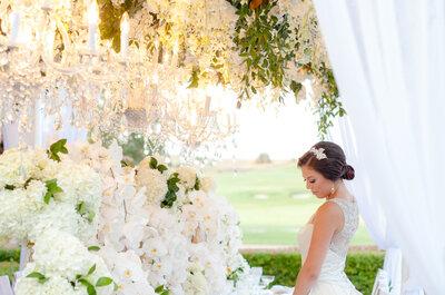 Como fazer um casamento Total White maravilhoso: dicas TOP!