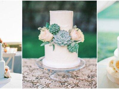 Pasteles de boda con flores: Deléitate con estas bellezas