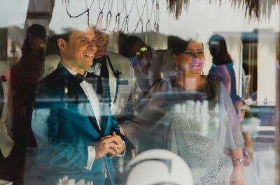 Reacciones del novio al ver a la novia: ¿cómo crees que reaccionará el tuyo?