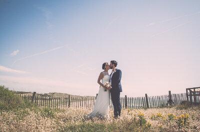 Joséphine et Maxime : Un magnifique mariage pastel organisé en 8 mois et des souvenirs pour la vie !