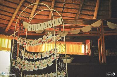 Photos personnalisées: la décoration de mariage tendance