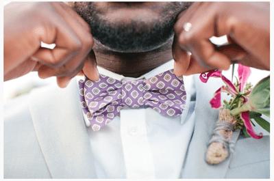 Los detalles ganadores para que tu novio desborde estilo el día de la boda
