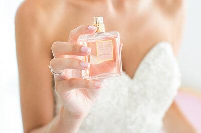Wie Bräute das perfekte Parfüm für den Hochzeitstag auswählen: Liebe geht eben auch durch die Nase!