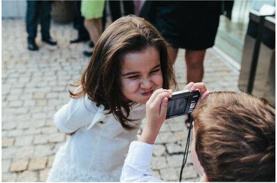 Kinder auf Hochzeiten: So beschäftigen Sie die kleinen Hochzeitsgäste!