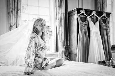 Real Wedding: A British countryside wedding fit for Downton Abbey