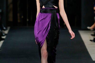 J Mendel otoño 2015: Vestidos de fiesta inspirados en el glamour y la vida nocturna de Nueva York