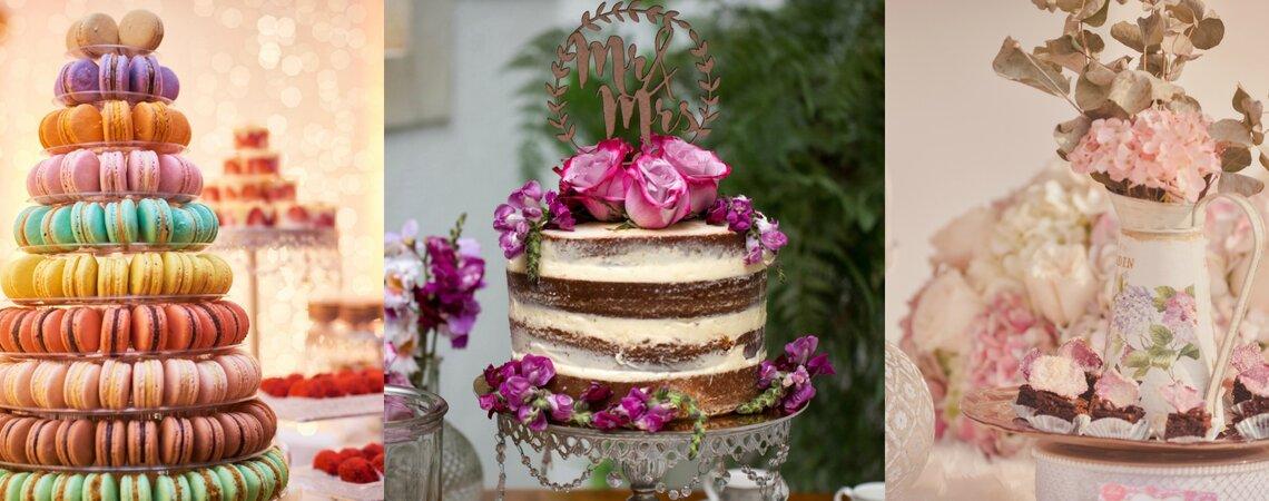 Las 6 mejores pastelerías para ponqué de boda y mesas dulces en Cali